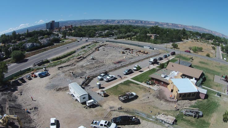 Cappella of Grand Junction Drone 08 30 2016
