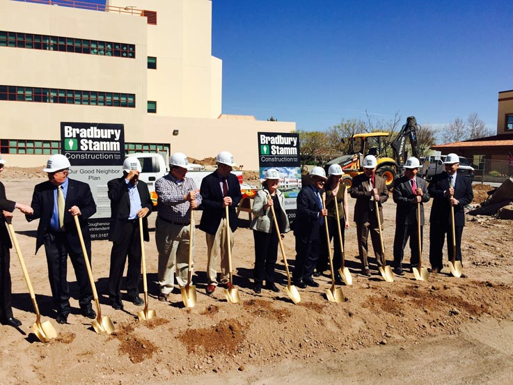 NM Tech Chemistry Building Groundbreaking